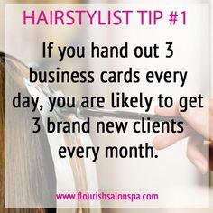 Hairstylist Tip #1