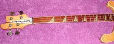 Verkaufe Rickenbacker Bass Modell 4001 Mapleglo (Ahorn). Herstellung in USA / Juli 1974, SN:...,Rarität, Rickenbacker Bass Modell 4001 Mapleglo (Ahorn) ohne Case in Niedersachsen - Hittbergen