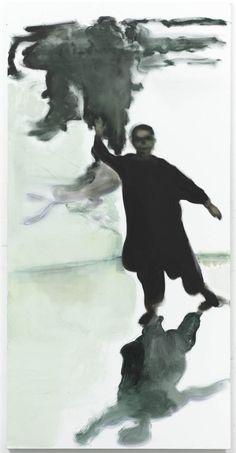 Child Waving, 2010- Marlene Dumas