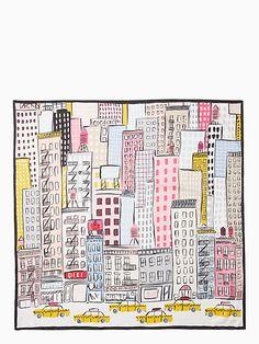 ddddfcdde2109 cityscape silk scarf