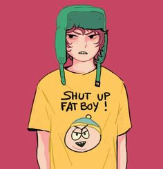 South Park Characters, Kyle Broflovski, Eric Cartman, Goin Down, South Park Anime, Tsundere, Going Home, Theme Song, Art Blog