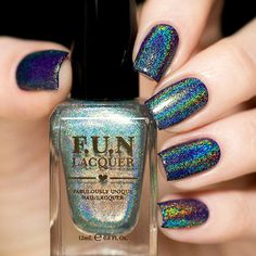 Fun Lacquer Diamond Nail Polish - PRE-ORDER | Live Love Polish Use code VIPA9JHH for $5 off your first order. Free shipping at $20!