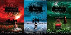Trylle series by Amanda Hocking Beautiful covers! http://paranormalromancereads.com