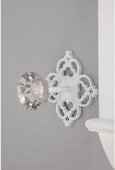 Door Knob Hook - maybe a variation of this for that thing I've been imagining near the front door?