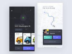 Rethinking Taxi App Design by Ron Evgeniy