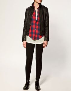 Maybe my new leather jacket?
