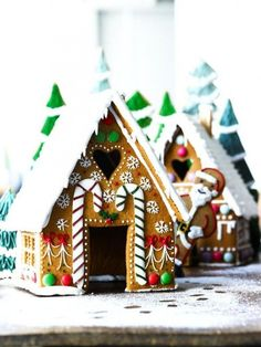 ever wanted to make your own gingerbread house? Try your hand at a Biscuiteers DIY gingerbread house kit! Gingerbread House Designs, Christmas Gingerbread House, Noel Christmas, Christmas Baking, All Things Christmas, Christmas Cookies, Gingerbread Houses, Xmas, Christmas Recipes