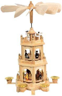 Brauns-Heitmann 7949 Weihnachtspyramide, 3-stöckig, ca. 44 cm Heitmann http://www.amazon.de/dp/B005E3ZZH6/ref=cm_sw_r_pi_dp_7m3pwb0EVVZSP