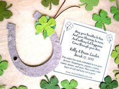Wedding favours with an Irish Twist