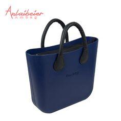 6971a8ced564 ANLAIBEIER AMbag Mini Ambag with black waterproof insert lining handles  women s EVA DIY bags Obag O