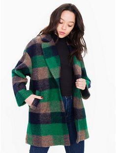 AMERICAN APPAREL Wool Top Coat