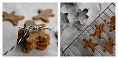 Raw, vegan, gluten free gingerbread people <3