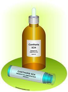 CANTHARIS-gocce-granuli bruciature, punture insetti - cistiti - gastrite - diarrea