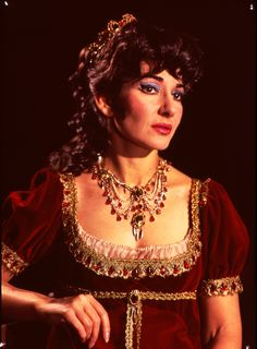 Maria Callas as Floria Tosca in Act II of Puccini's opera Tosca at Royal Opera House, Covent Garden, 1964, England. © Victoria and Albert Museum, London