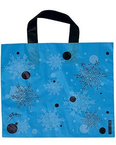 Our plastic bags with loop handles offer strength and durability with a wonderful design choice. This shiny plastic bag is also recyclable. Use Of Plastic, Plastic Bags, Christmas Bags, Printed Bags, Shopping Bag, Recycling, Strength, Reusable Tote Bags, Handle