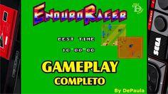 Enduro Racer MASTER SYSTEM Gameplay Completo