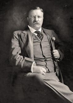 Theodore Roosevelt...26th President of The United States...served two terms 1901 to 1909.