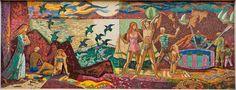 Santa Monica mosaic by Millard Sheets