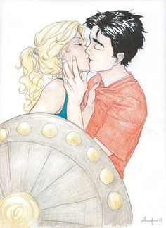 Percy Jackson and Annabeth Chase...does it get any better? (okay, Jasper is pretty cool too...)