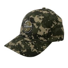 Pops Bottle Cap Hat - Camo