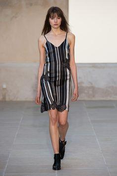 S/S16, collaboration with Jefferson Hack and Robert Montgomery. Pyjama stripes.