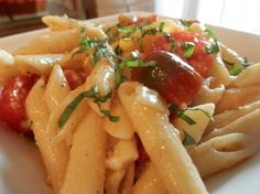 Copy Cat Applebee's Three Cheese Chicken Penne  Recipe - Meal Cost- When you add garlic bread and a salad, it is a very quick, inexpensive weeknight meal.  Instead of spending about $15 a person, (with drink and tip) you could spend about $8.50  for a family of four.  That's a savings in anybody's wallet.