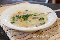 Olive Garden Zuppa Toscana -Italian Soup Recipe