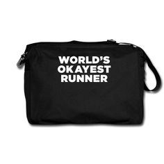 World's Okayest Runner Women's Premium T-Shirt ✓ Unlimited options to combine colours, sizes & styles ✓ Discover T-Shirts by international designers now! Gifts For Runners, Business Professional, Briefcase, Messenger Bag, Flare, Best Gifts, Students, Pocket, Stylish