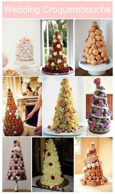 Planning your wedding in France, then find out our French Wedding Food Pinspiration with wedding croquembouche and wedding macaron cakes in all colours