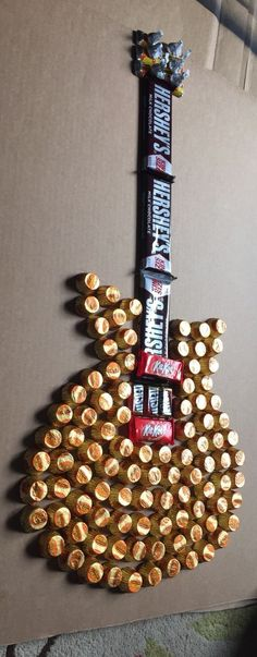 Candy guitar, maybe this is pinsperation fire a candy boom   box