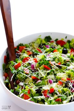 Pepperoni Italian Chopped Salad