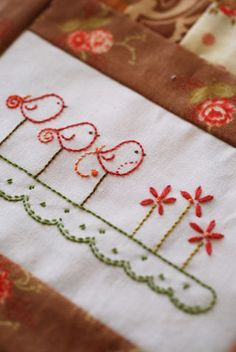 Image of Tail Feathers BOM pattern set