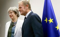 EU leaders softened their stance significantly on Brexit talks yesterday amid fears in Brussels that Theresa May's Government could collapse if negotiations remain deadlocked.