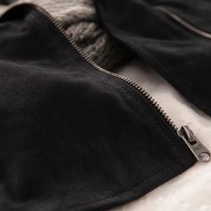 Suede Moto Jacket | Abercrombie.com | Check out our Pin To Win Challenge at http://on.fb.me/UfLuQd