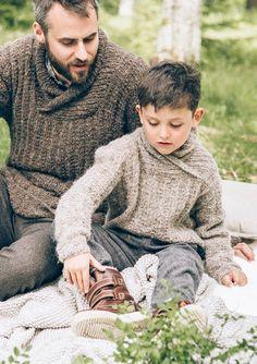 Ravelry: Herregenser med sjalskrage (Nr pattern by SandnesGarn Tweed, Irish Cottage, Knitting Projects, More Fun, Most Beautiful Pictures, Ravelry, Knitwear, Men Sweater, Couple Photos