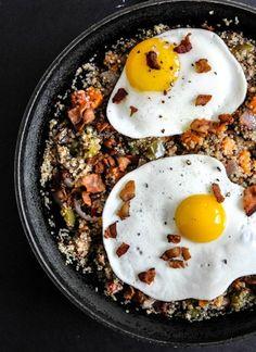 Quinoa Breakfast Skillet | #breakfast
