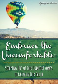 Nobody enjoys being uncomfortable. But the truth is that our comfort zone can actually be the most dangerous place to be. Why you ask? Because when we are too comfortable, there is no inspiration to grow or move forward.