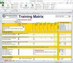 Skills Matrix  Management And Project Management