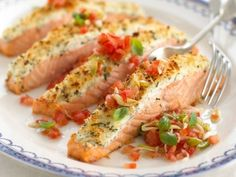 Salmon & shrimp , scallops on Pinterest | Salmon, Scallops and Salmon ...
