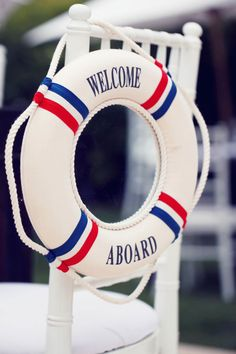 #Nautical themed baby shower. Photography: Melody Melikian Photography - www.melodymelikianphotoblog.com  Read More: http://www.stylemepretty.com/living/2014/05/26/nautical-baby-shower/