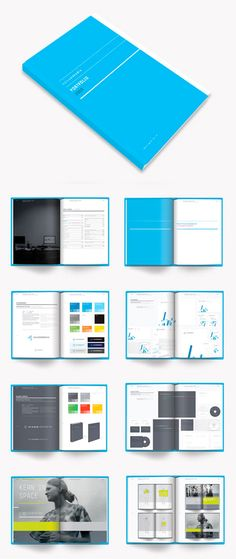 Portfolio with some good page layouts