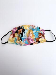 (1) Disney Princess Face Mask, Adult Face Mask, Reusable Face Mask, Cotton – mayrafabuleux White Face Mask, Cat Face Mask, Face Masks, Thanos Face, Princess Face, Princess Toys, Lilo Y Stitch, Unicorn Face, Barbie