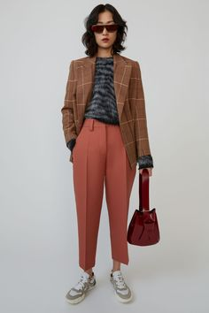 Acne Studios – Women's New ArrivalsYou can find Acne studios and more on our website.Acne Studios – Women's New Arrivals Acne Studios, Marketing Direct, Stockholm Street Style, Paris Street, Milan Fashion Weeks, London Fashion, Cropped Trousers, What To Wear, Celebrity Style