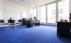 Großer Teamraum in modernem Bürogebäude in Schwabing-Nord #Büro, #Bürogemeinschaft, #Office, #Coworking, #München, #Munich