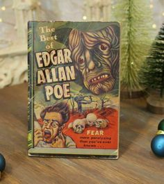 1945 The Best Of Edgar Allan Poe More Fear Than You've Ever Known 1st Edition | eBay