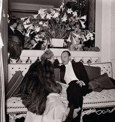 Mona Biamarck and Jacques de la Beraudiere, 1938