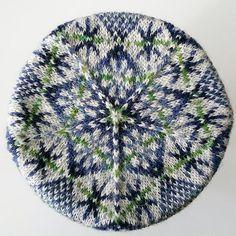 Ravelry: Houll Hat pattern by Ella Gordon Crochet Winter, Knit Crochet, Crochet Hats, Fair Isle Knitting Patterns, Knitting Accessories, Dark Backgrounds, Art Fair, Design Crafts, Headbands
