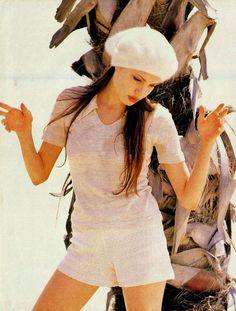 Angelina Jolie in Sassy Magazine in 1993