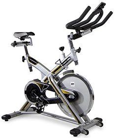 nice BH Fitness MKT JET BIKE PRO H9162RF bicicleta ciclismo indoor. Volante inercia 22 Kg. Cuadro de acero muy robusto. Máxima estabilidad al entrenar de pie.