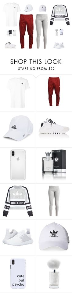 """adidas"" by pauline02 ❤ liked on Polyvore featuring adidas, Y-3, Speck, Bulgari and adidas Originals"